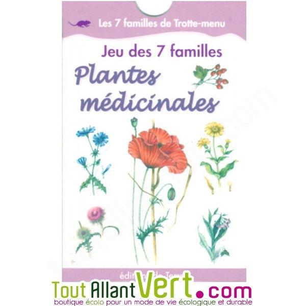 Jeu de 7 familles plantes m dicinales nature et for Acheter des plantes sur internet