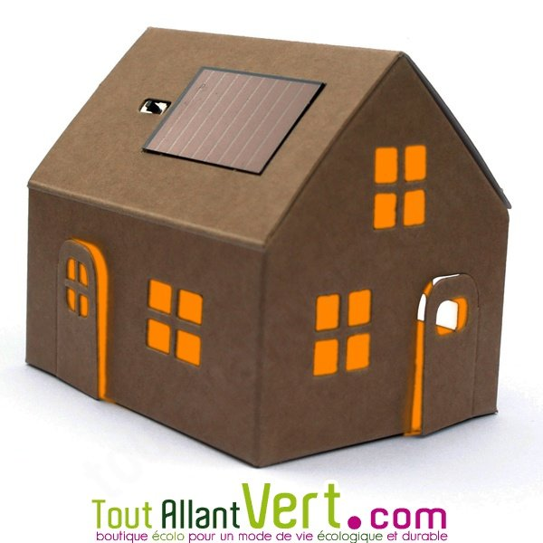 mini maison solaire en carton monter achat vente cologique acheter sur. Black Bedroom Furniture Sets. Home Design Ideas