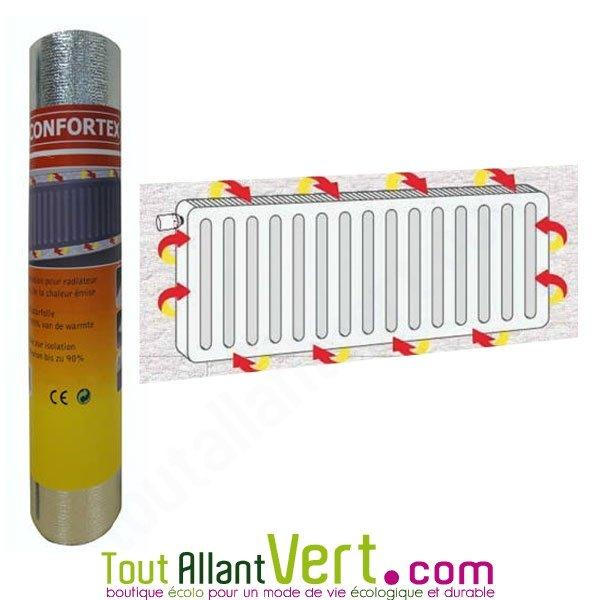 film isolant r flecteur pour radiateur fixer sur mur 2