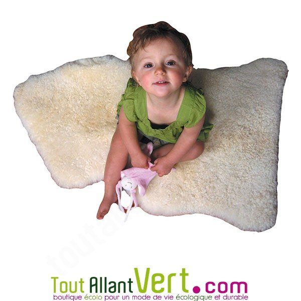 peau d agneau tannage relugan 80 90cm pour b b achat vente cologique acheter sur. Black Bedroom Furniture Sets. Home Design Ideas