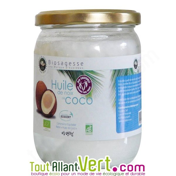 huile de noix de coco zone intime
