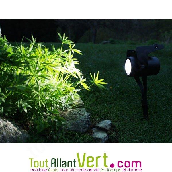 Watt & Home - Spot d éclairage solaire puissant pour le jardin