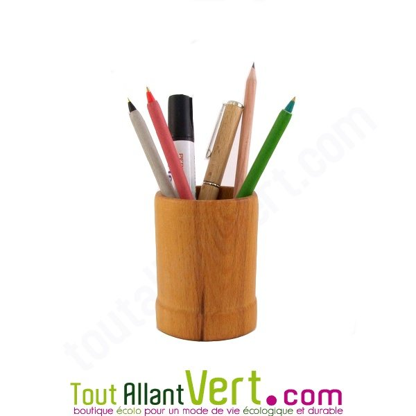 pot crayon en bois de h tre achat vente cologique acheter sur. Black Bedroom Furniture Sets. Home Design Ideas