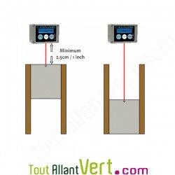 Porte Aluminium Légère Et Glissières En Bois Pour Releveporte De - Fabriquer porte poulailler automatique