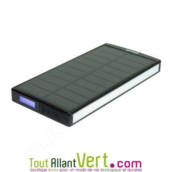 chargeur solaire puissant et multifonction 9000mah sephia achat vente cologique acheter sur. Black Bedroom Furniture Sets. Home Design Ideas