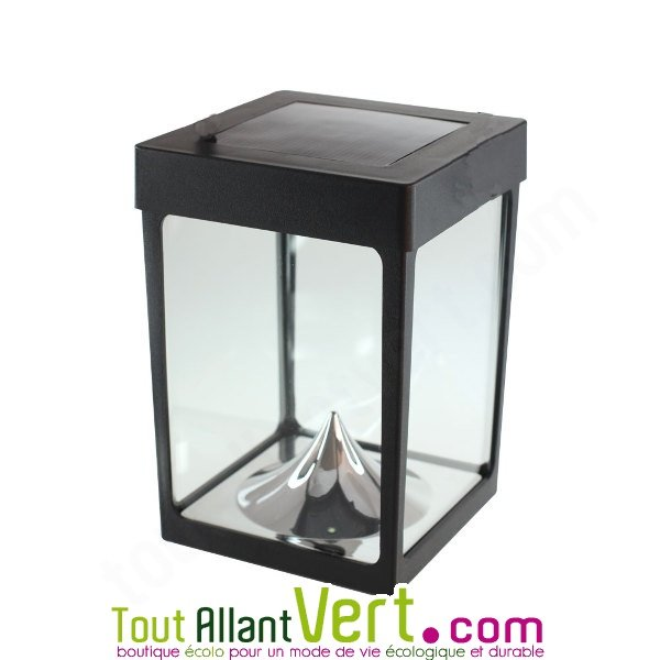 petite lampe solaire pour table photophore de toute beaut 30 lumens. Black Bedroom Furniture Sets. Home Design Ideas
