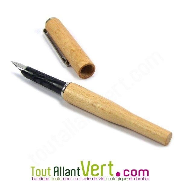 stylo plume bois fsc
