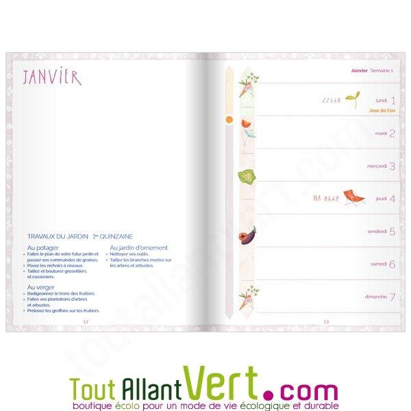 Agenda Du Jardinier Bio Et Calendrier Lunaire 2018 De Terre Vivante