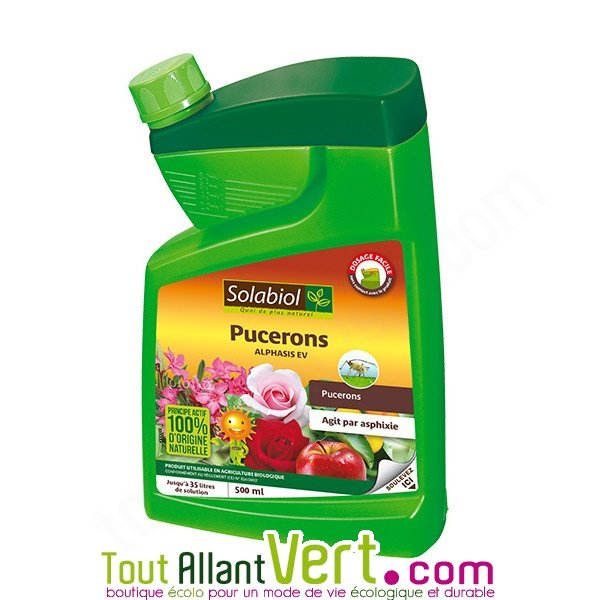 Traitement naturel contre les pucerons 500ml solabiol - Produit naturel contre les pucerons ...