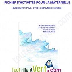 Fiches d\'activit�s pour la Maternelle 16 fiches sur le r�chauffement climatique