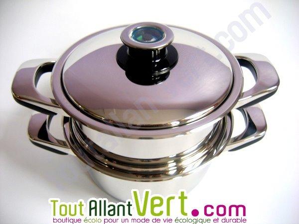 Abe panier vapeur ou passoire pour cuire la vapeur for Cuire a la vapeur