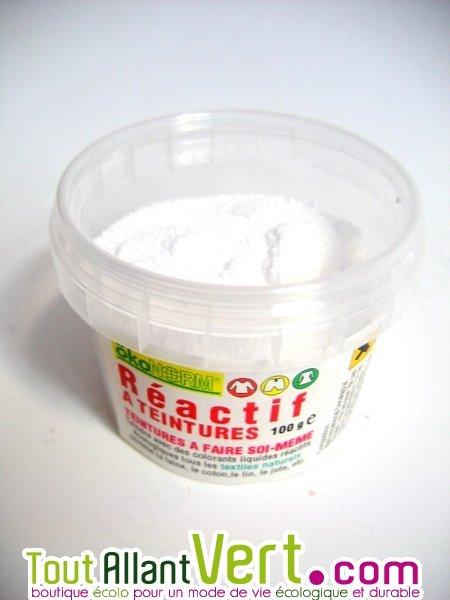R actif pour teinture cologique textiles 100g achat vente cologique achet - Teinture textile bio ...