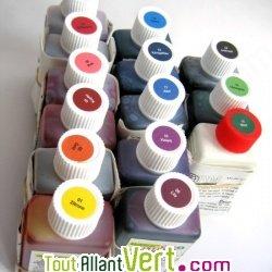 Teinture cologique pour textiles coloration jaune citron t1 achat vente col - Teinture textile bio ...