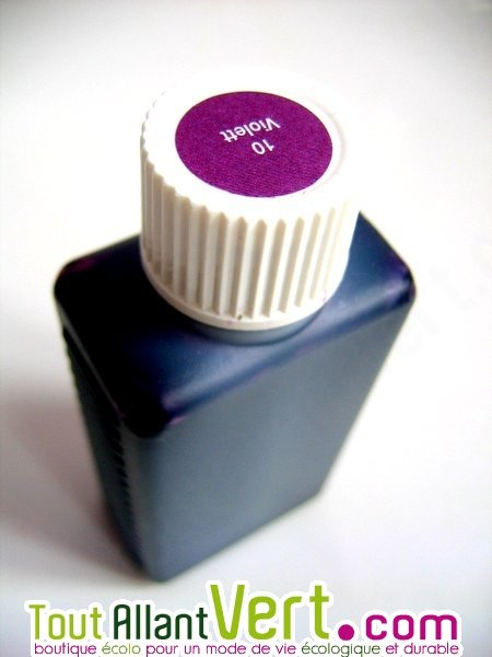 Teinture cologique pour textiles coloration violet t10 achat vente cologiqu - Teinture textile bio ...
