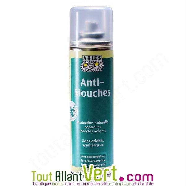 Aries spray anti mouches 200ml r pulsif naturel certifi for Anti mouches naturel maison
