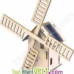 Moulin construire bois et nergie solaire achat vente for Bricolage moulin a vent en bois