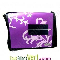 Sacoche solaire � bandouli�re Art Bag Design Purple